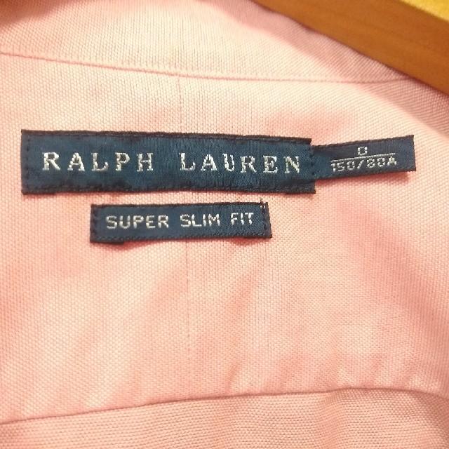 POLO RALPH LAUREN(ポロラルフローレン)のポロラルフローレン シャツ ピンク レディースS キッズ150 レディースのトップス(シャツ/ブラウス(長袖/七分))の商品写真