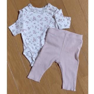 H&M - 新生児服 ベビー服(1-2ヶ月) セットアップ