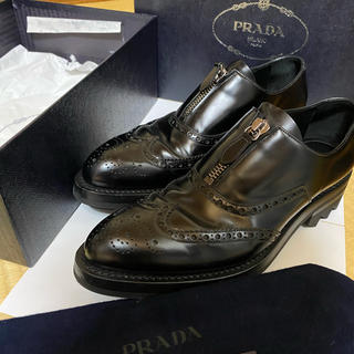 プラダ(PRADA)のPrada シャークソール(ローファー/革靴)