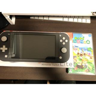 Nintendo Switch - 任天堂Switch ライト&どうぶつの森