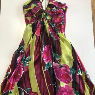 セシルマクビー(CECIL McBEE)の膝丈ドレス(ミディアムドレス)