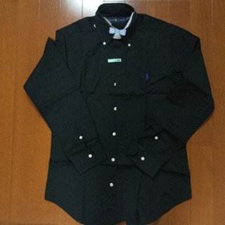 ラルフローレン(Ralph Lauren)のラルフローレン メンズ ブラック シャツ(Tシャツ/カットソー(七分/長袖))