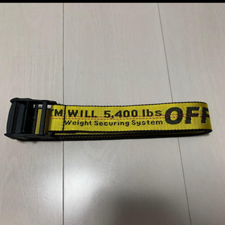OFF-WHITE - off-white INDUSTRIAL BELT