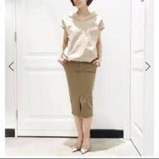 ドゥーズィエムクラス(DEUXIEME CLASSE)の【美品】ドゥーズィエムクラス タイトスカート 34(ひざ丈スカート)