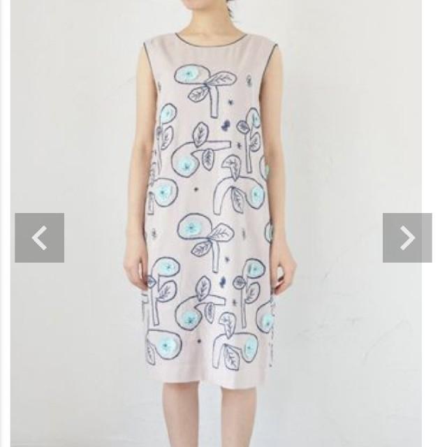 mina perhonen(ミナペルホネン)のminaperhonen♡ミナペルホネン♡bow♡ワンピース♡ドレス♡38♡新品 レディースのワンピース(ひざ丈ワンピース)の商品写真