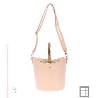 TODAYFUL - 新品■koe■バンブーハンドルバケツ型バッグ