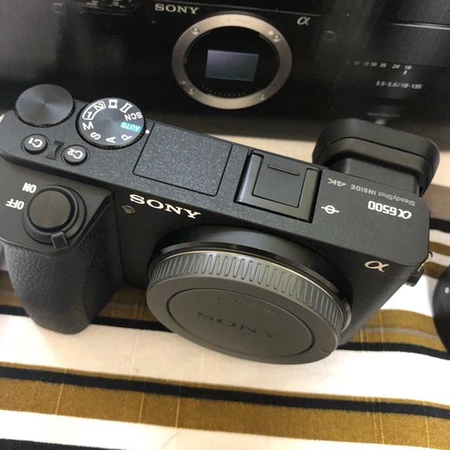 SONY(ソニー)のモンス様専用【美品】SONY α6500 本体  スマホ/家電/カメラのカメラ(ミラーレス一眼)の商品写真