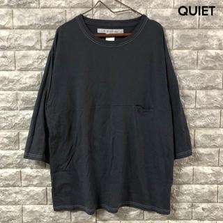 EEL Products Mサイズ 7分袖丈 ポケット付き Tシャツ グレー(Tシャツ/カットソー(七分/長袖))