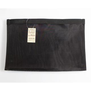 ムジルシリョウヒン(MUJI (無印良品))の無印良品 新品 B5 ブラック 黒 バッグインバッグ 2つセット(ポーチ)