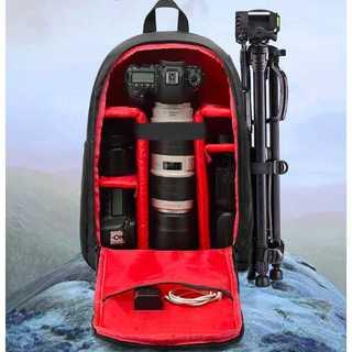 (レインカバー付き)カメラバッグ 大容量 カメラリュック 一眼レフ バッグ