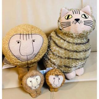リサラーソン(Lisa Larson)のリサラーソン ネコ ミア ライオン 4点 ぬいぐるみ 北欧 インテリア 癒し猫(ぬいぐるみ)