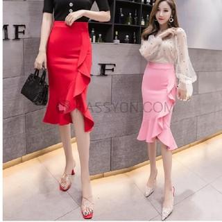 新品 韓国ファッション マーメイドスカート