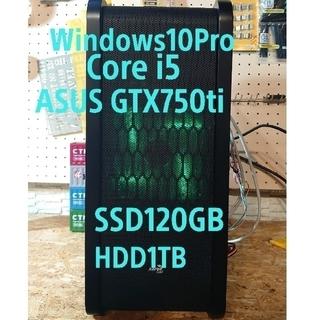 マイクロソフト(Microsoft)のゲーミングPC  corei5 gtx750ti SSD新品(デスクトップ型PC)