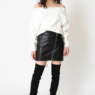 EGOIST フェイクレザースカート