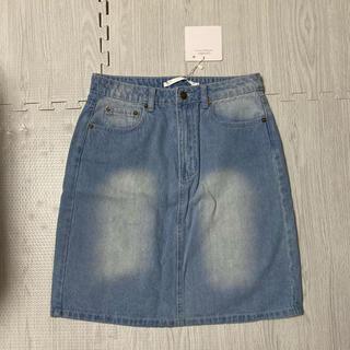 デニムスカート XL