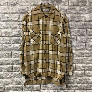 アンユーズド(UNUSED)のUNUSED アンユーズド サイズ1 ネルシャツ チェック 長袖シャツ(シャツ)