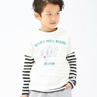 ブリーズ(BREEZE)の新品未使用♡BREEZE 2PセットレイヤードTシャツ 90(Tシャツ/カットソー)