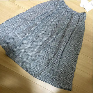 ロデオクラウンズワイドボウル(RODEO CROWNS WIDE BOWL)のRCWB チェック スカート  キッズ(スカート)