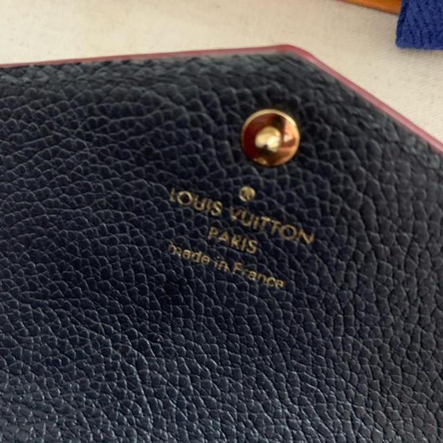 LOUIS VUITTON(ルイヴィトン)のLOUIS VUITTON ルイヴィトン ポシェット・クレ財布 レディースのファッション小物(財布)の商品写真