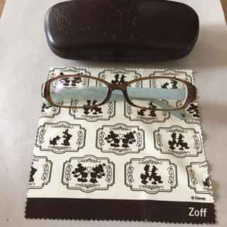 Zoff - Zoff ディズニーコレクション ドナルド  メガネ   ケース付   度数有