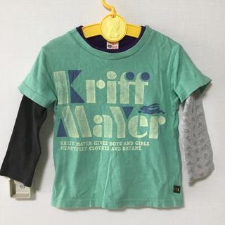 クリフメイヤー(KRIFF MAYER)のクリフメイヤー Tシャツ ロンT セット 重ね着 110(Tシャツ/カットソー)