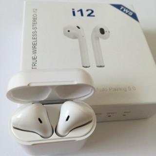 【送料無料】イヤホン Bluetooth ワイヤレスイヤフォン i12