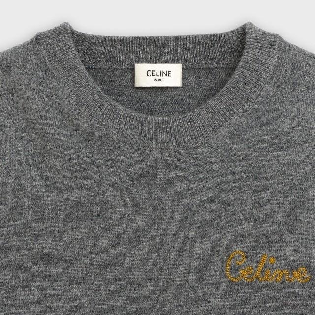 celine(セリーヌ)のCELINE セリーヌ ニット エディ フィービー コート セーター レディースのトップス(ニット/セーター)の商品写真