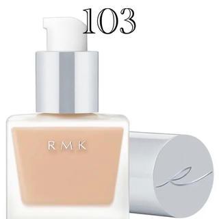 RMK - 新品 未使用 RMK リクイドファンデーション 103 ファンデーション