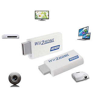 即購入OK!即発送!コンバーター HDMI変換アダプタ Wii