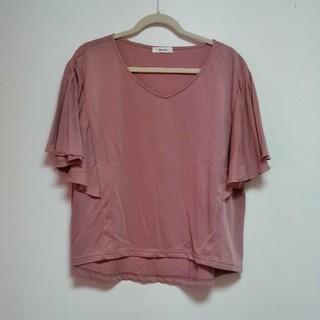 ニコアンド(niko and...)のニコアンド ソデピラTシャツ(Tシャツ(半袖/袖なし))