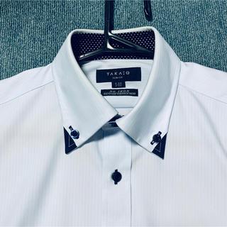 TAKA-Q - TAKA Q メンズノーアイロンYシャツ