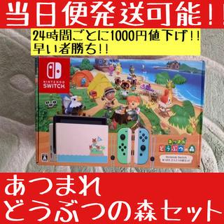 Nintendo Switch - 中古美品 新型 Nintendo Switch あつまれどうぶつの森セット