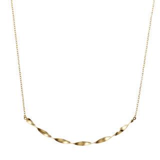 ジュエリーツツミ(JEWELRY TSUTSUMI)のK10 イエローゴールド ネックレス&ピアス(ネックレス)