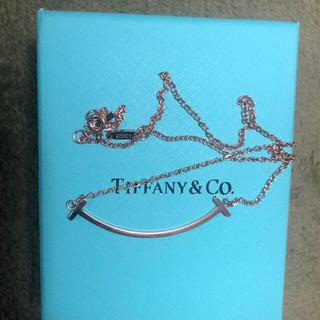 Tiffany & Co. - Tiffany&Co ティファニーT スマイル ネックレス