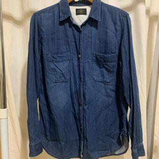 アメリカンラグシー(AMERICAN RAG CIE)のデニムカラー 薄手シャツ(シャツ/ブラウス(長袖/七分))
