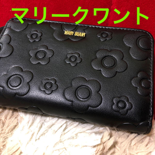 MARY QUANT - 美品❣️マリークワント❣️折財布