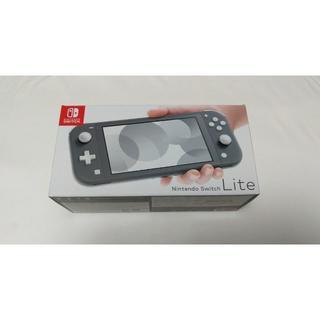 ニンテンドースイッチ(Nintendo Switch)のNintendo Switch Lite (グレー)(家庭用ゲーム機本体)