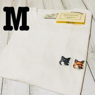 MAISON KITSUNE' - 最終値下げ!新品/タグ付き/男女兼用/メゾンキツネTシャツ/Mサイズ