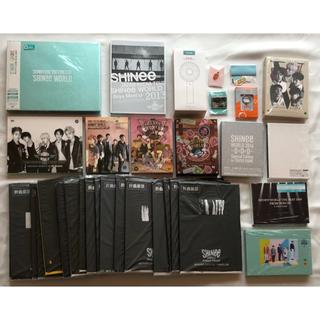 シャイニー(SHINee)のSHINee DVD Blu-ray ブルーレイ グッズ トレカ セット fc(アイドルグッズ)