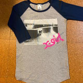 エックスガール(X-girl)のTシャツ エックスガール ロンT(Tシャツ(長袖/七分))