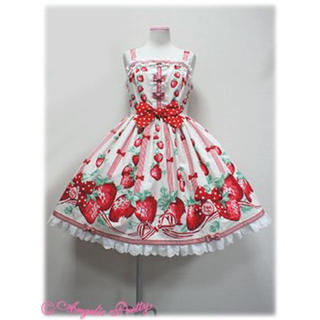 Angelic Pretty - Angelic Pretty 摘みたていちご ジャンパースカート JSK