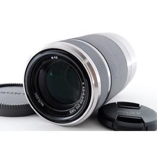 SONY - ❤Sonyミラーレス用望遠❤E 55-210mm OSS 手振れ補正 シルバー