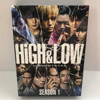 エグザイル トライブ(EXILE TRIBE)のHIGH & LOW DVDBOX(日本映画)