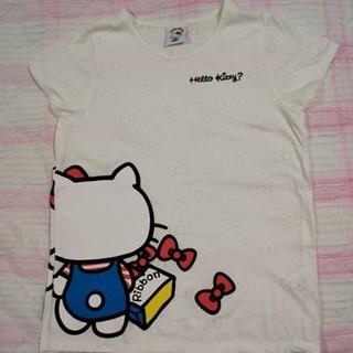 サンリオ(サンリオ)のハローキティTシャツ キティちゃんシャツ サンリオ サンリオキャラクター(Tシャツ(半袖/袖なし))