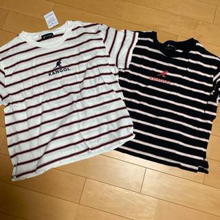 カンゴール(KANGOL)のKANGOL ボーダーTシャツ 2枚セット(Tシャツ(半袖/袖なし))