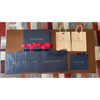 ラルフローレン(Ralph Lauren)のポロ✩ラルフローレン✩ショップ袋✩ショップバック✩ギフトBOX✩6点+おまけ2点(ショップ袋)