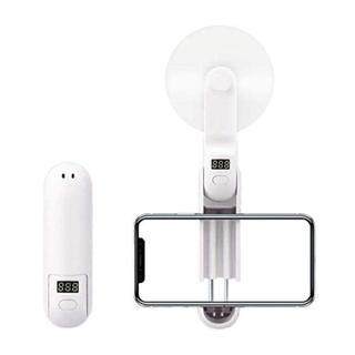携帯扇風機 手持ち モバイルバッテリー内蔵 ミニファン USB充電式