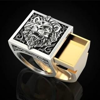 ライオン 盗賊 リング 指輪 アクセサリー(リング(指輪))