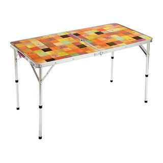 コールマン(Coleman)のコールマン テーブル 4〜6人用高さ調整 ナチュラルモザイクテーブル/120(テーブル/チェア)
