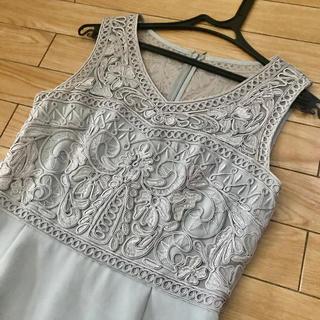 グレースコンチネンタル(GRACE CONTINENTAL)のグレースコンチネンタル ワンピース ドレス 美品(ミディアムドレス)